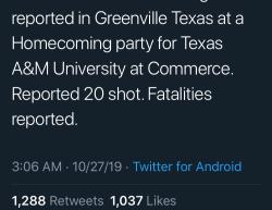 10-26-19 Texas Greenville 8-1