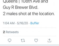5-16-20 New York Queens 2-0