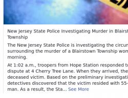 10-26-2016 New Jersey Blairstown 1-1