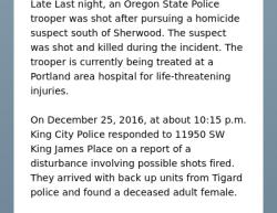 12-25-16 Oregon King City 2-1