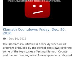 1-1-17 Oregon Klamath Falls 1-1