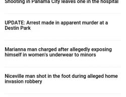 7-3-17 Florida Panama City 1-0