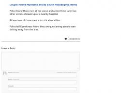 8-13-17 Pennsylvania Philadelphia 5-0