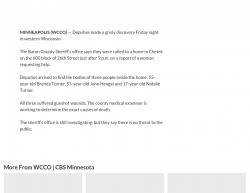 10-27-17 Wisconsin Chetek 3-0