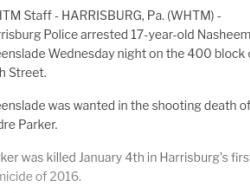 1-4-16 Pennsylvania Harrisburg 2-3