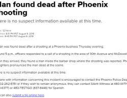 8-9-18 Arizona Phoenix 1-1