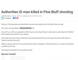 1-10-19 Arkansas Pine Bluff 1-0