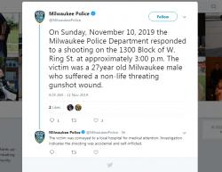 11-10-19 Wisconsin Milwaukee 1-0
