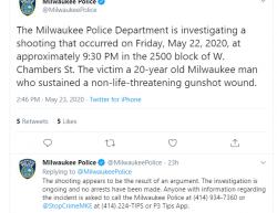 5-22-20 Wisconsin Milwaukee 1-0