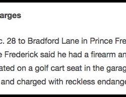 12-28-18 Maryland Prince Frederick 0-1