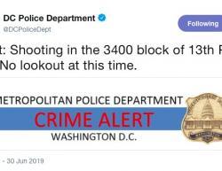 6-30-19 District of Columbia Washington 1-0