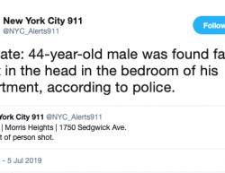 7-5-19 New York Bronx 1-1