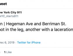 12-6-19 New York Brooklyn 1-0