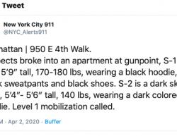 4-2-20 New York Manhattan 0-3
