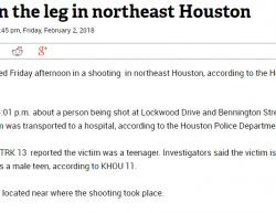 2-2-18 Texas Houston 1-0