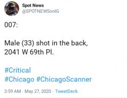 5-27-20 Illinois Chicago 1-0
