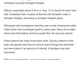 8-17-19 Illinois Arlington Heights 0-3