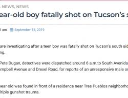9-17-19 Arizona Tucson 1-0