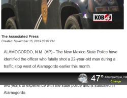 11-1-19 New Mexico Alamogordo 0-1