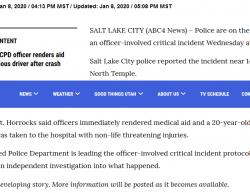 1-8-20 Utah Salt Lake City 0-1