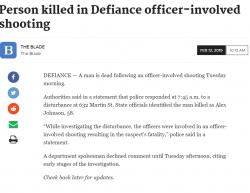 2-12-19 Ohio Defiance 0-1