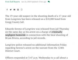 1-22-20 Texas Longview 1-1